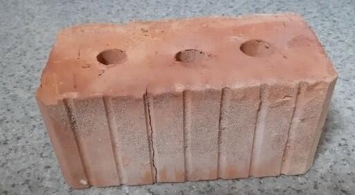 Рождественский кирпич керамический (буханка) 138*120*250